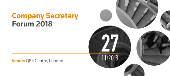 Company Secretary Forum 2018 #TRCSF18 – 27 November 2018